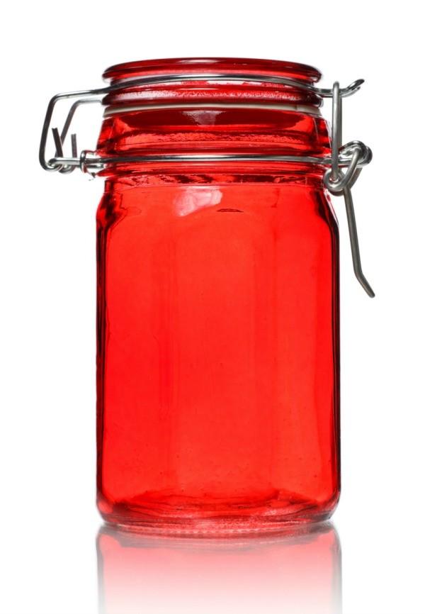 Merveilleux Tinted Glass Jar