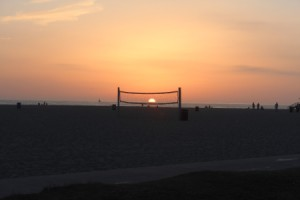 Walking the boardwalk in Venice,CA and just happened to look at the sunset at the right time...