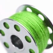 Bobbin with Green Thread