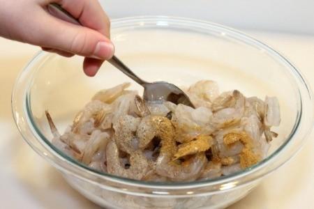 stir in seasoning