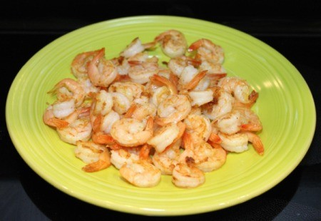 set shrimp aside