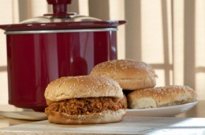 Slow Cooker Barbecue Sandwich