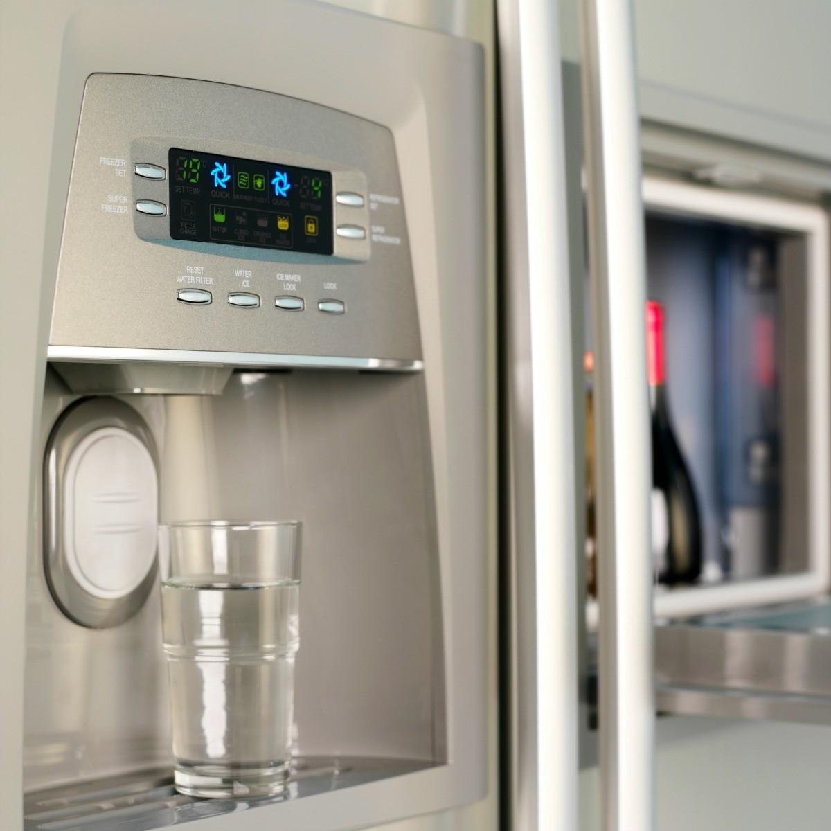 Repairing A Refrigerator S Water Dispenser Thriftyfun