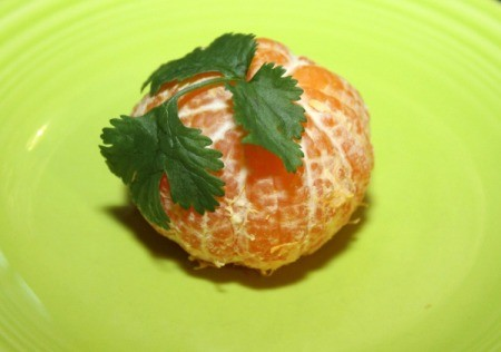 Mandarin Orange Pumpkin