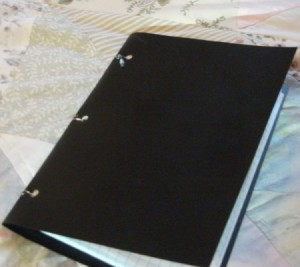 Upcycled Design Notebook