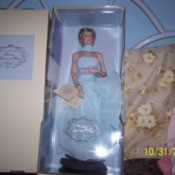 Princess Diana doll in box.