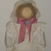 Child's form and clothing.