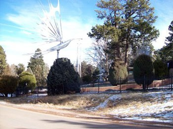 Wind Sculptures at Star Kempf Home