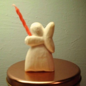 Making a Soap Angel