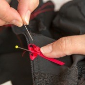 Decorating Clothing with Ribbon
