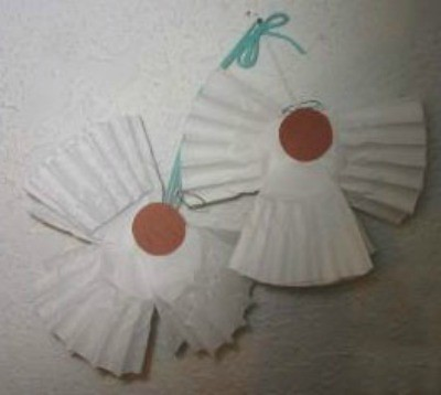 Coffee Filter Angels