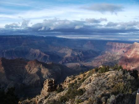 Winter View of the Grand Canyon (Arizona)