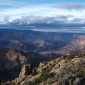 Winter View of the Grand Canyon (Arizona)