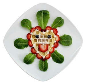 Creative Waffle Face