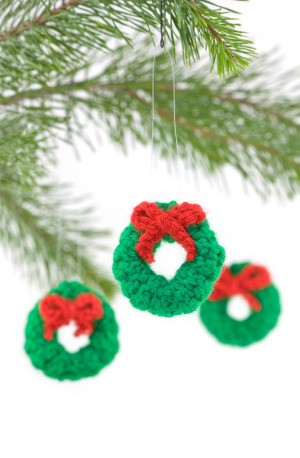 Crocheted Wreaths