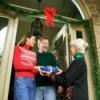 Giving Christmas Gifts to Neighbors
