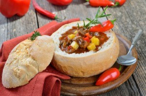 Soup in a Bread Bowls