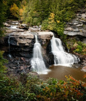 Black Water Falls in West Virginia