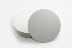 White Round Paper Coasters