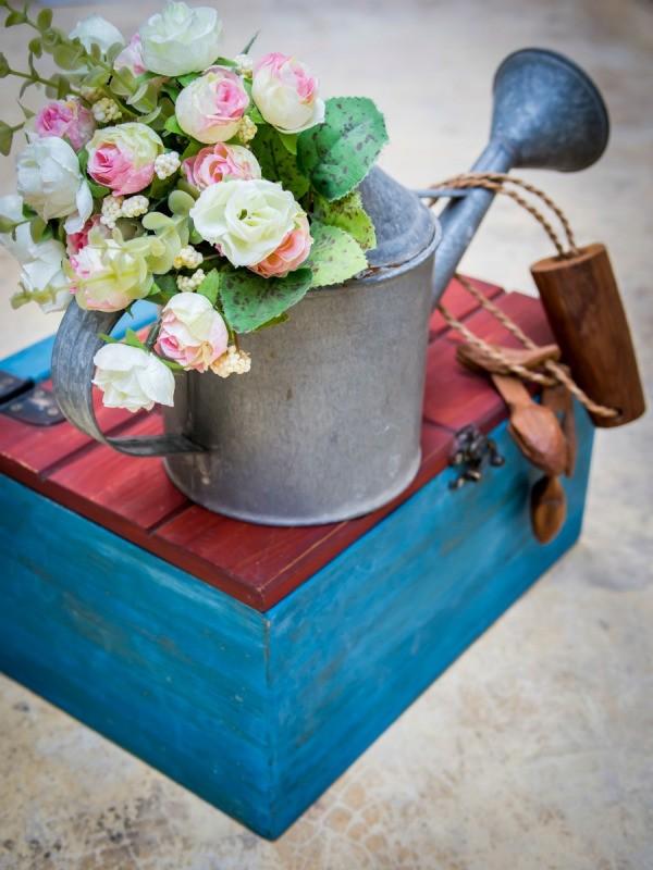 using artificial flowers in the garden | thriftyfun