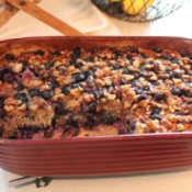 Baked Blueberry Banana Oatmeal