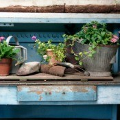 Making a Potting Bench