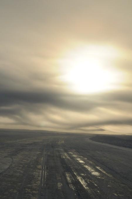 Arctic Ice Road (Tuktoyuktuk, Northwest Territories)