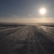 Arctic Ice Road (Tuktoyuktuk, Northwest Territories)