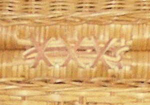 Basket closeup.