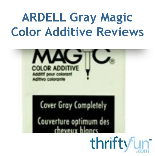 ardell gray magic color additive instructions