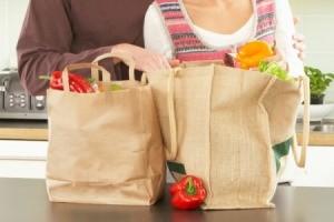 unpacking groceries