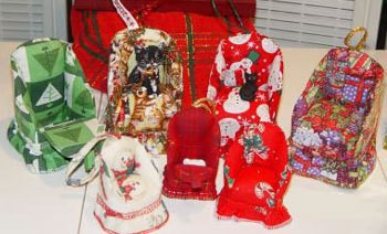 Stuffed Chair Ornaments