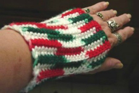 Crocheted Wrist Cuffs