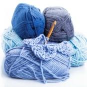 Yarn and a crochet hook.