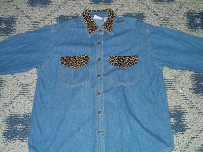 Original denim shirt.