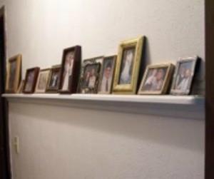 Hallway Picture Ledge