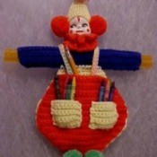 Crocheted Clown