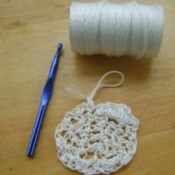 Crochet Pot Scrubber