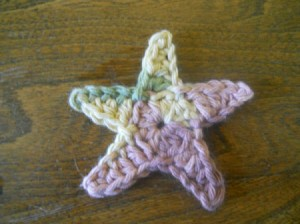 Finished star.