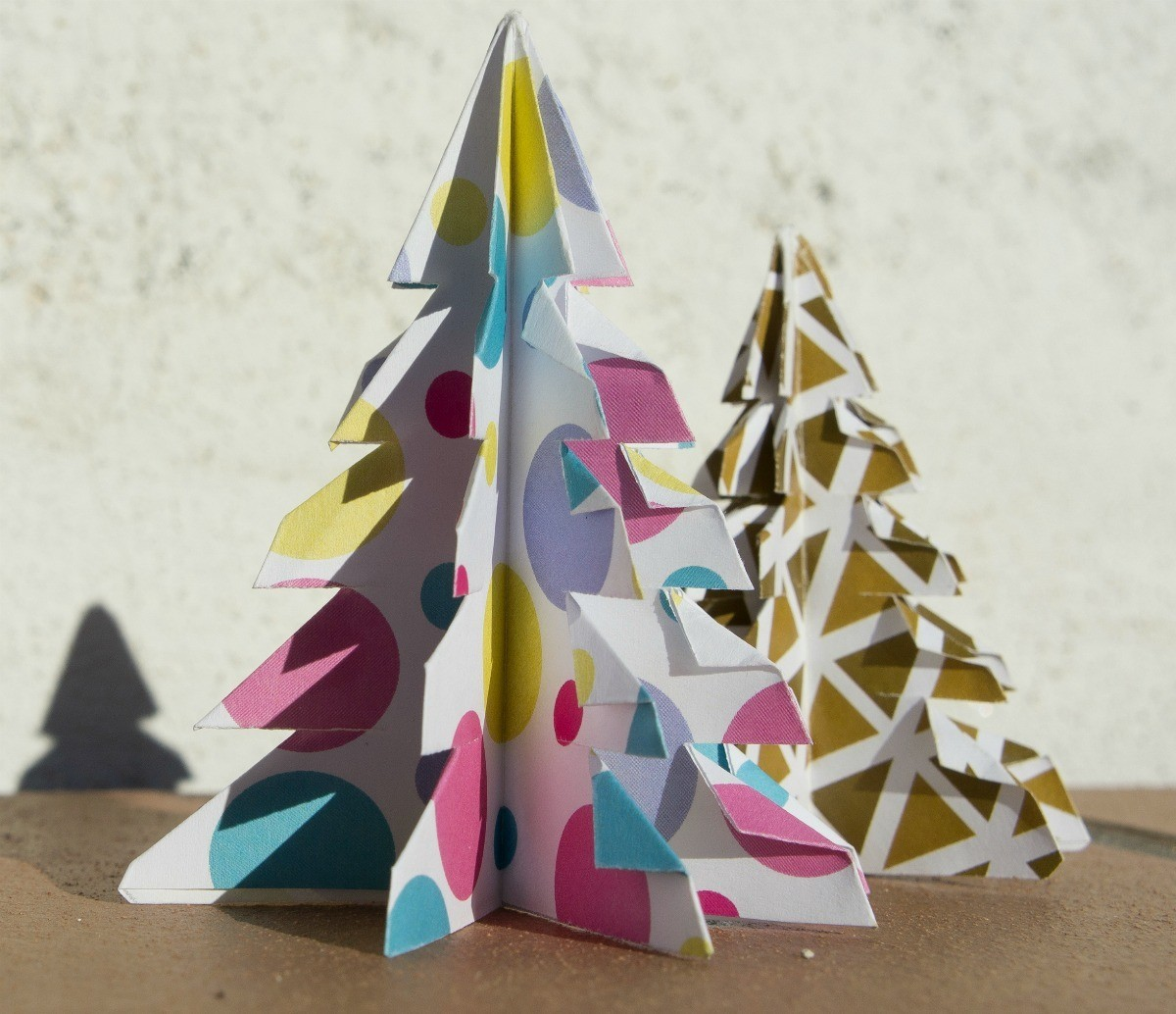 Metal Tabletop Christmas Tree: Making Tabletop Christmas Trees
