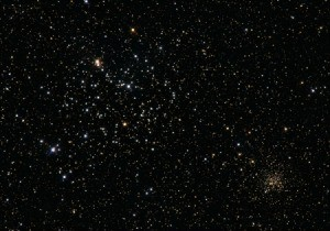 Photo of stars in the sky.
