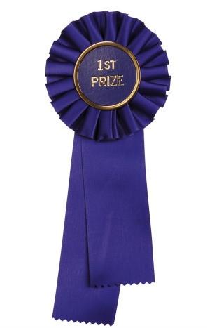 1st prize ribbon