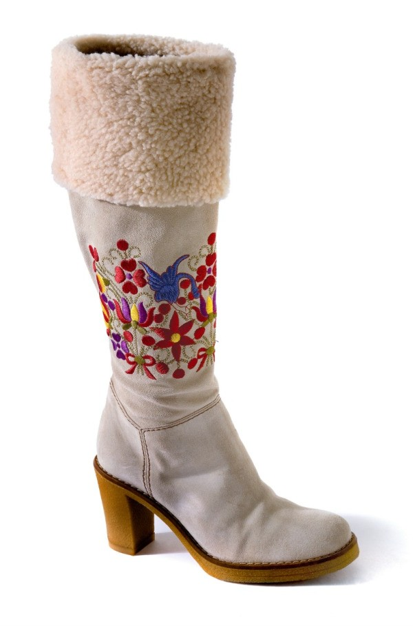 Boots With A Shearling Cuff