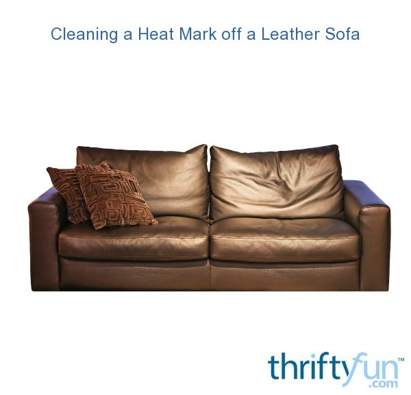 Wondrous Removing A Heat Mark From Leather Sofa Thriftyfun Bralicious Painted Fabric Chair Ideas Braliciousco
