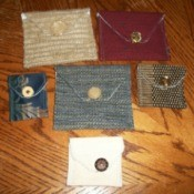 Making Purses From Upholstery Scraps