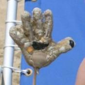 Sandy Handprint
