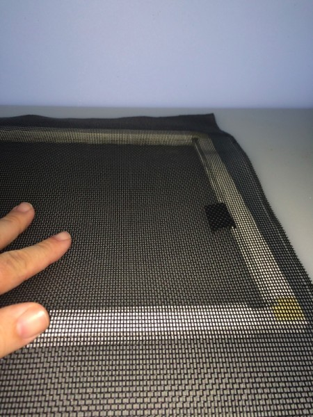Fixing a Damaged Window Screen