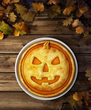 Halloween Pumpkin Pie Dessert