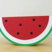Watermelon Card