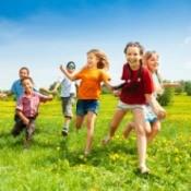 Kids Having Summer Fun